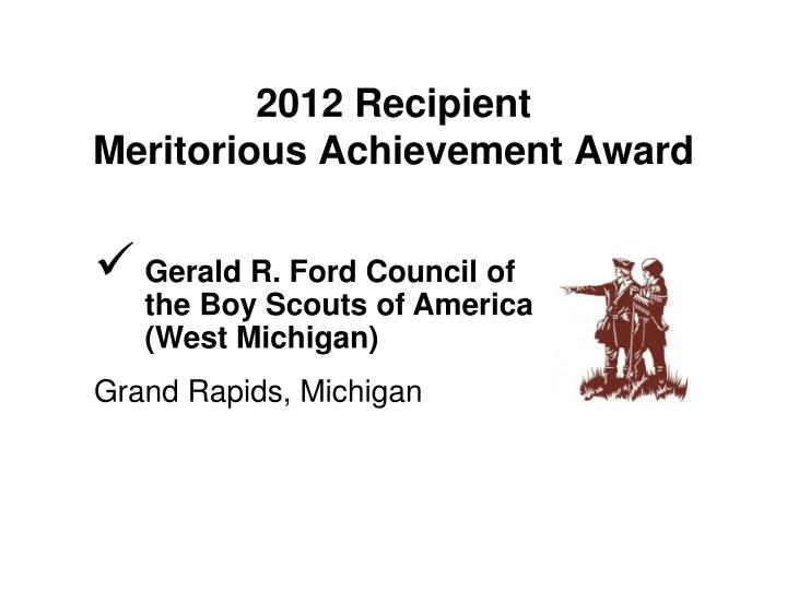 Gerald R. Ford Council of the Boy Scouts of America (West Michigan)