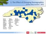 1 the effect of changing demographics urban ring counties 35