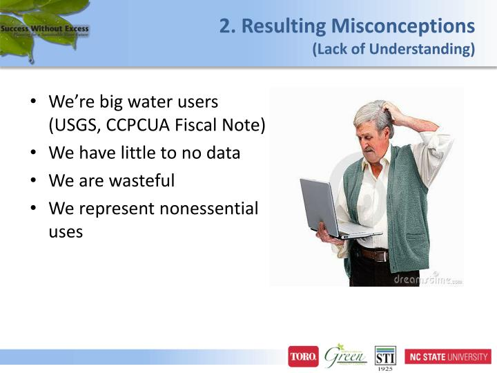 2. Resulting Misconceptions