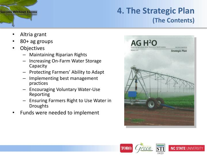 4. The Strategic Plan