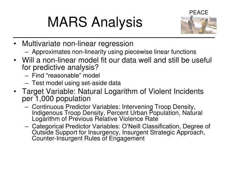 MARS Analysis