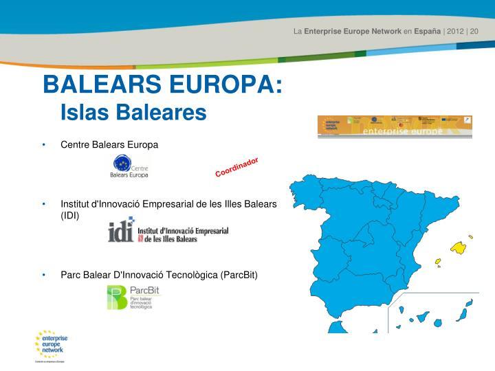 BALEARS EUROPA: