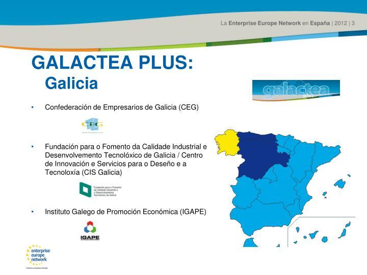 GALACTEA PLUS: