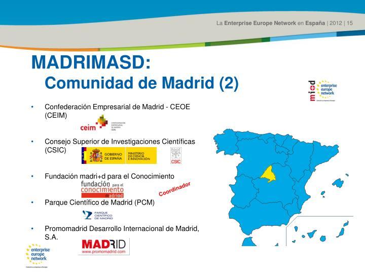 MADRIMASD: