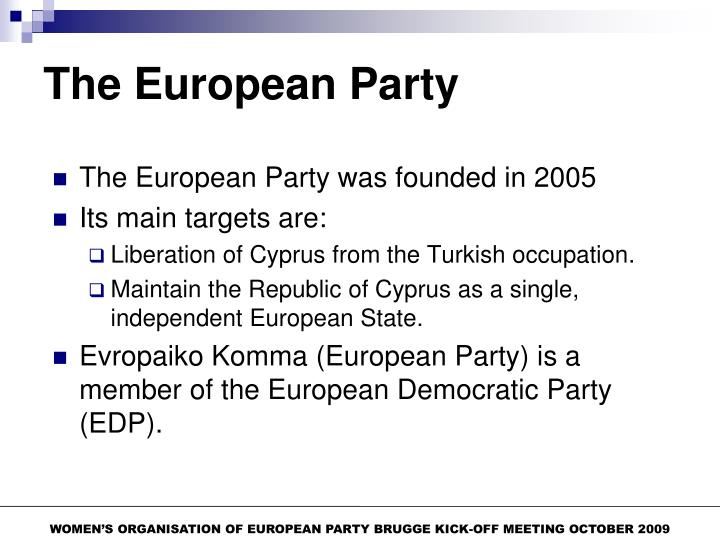 The European Party