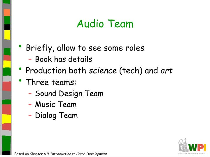 Audio Team