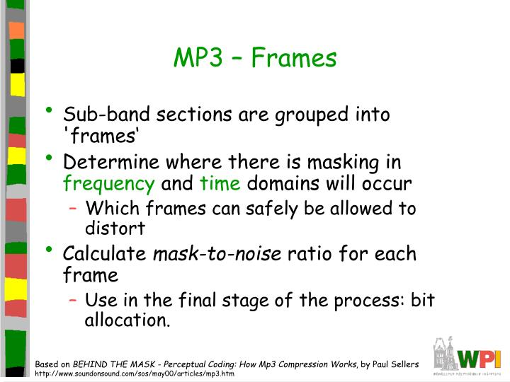 MP3 – Frames