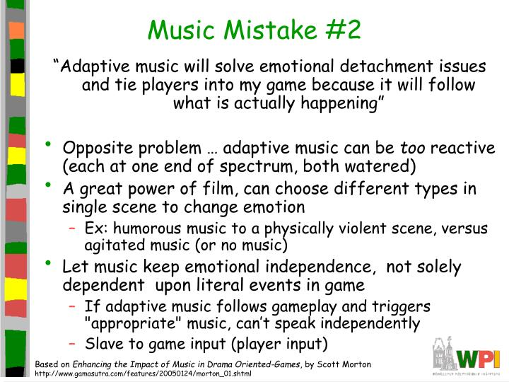 Music Mistake #2