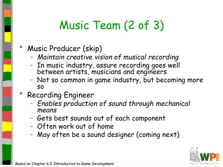 Music Team (2 of 3)