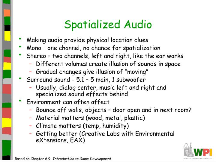 Spatialized Audio