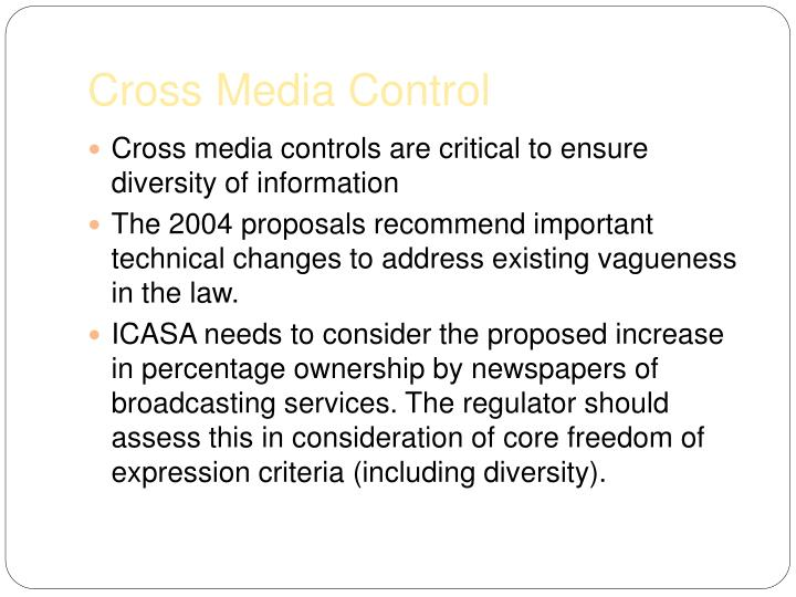 Cross Media Control