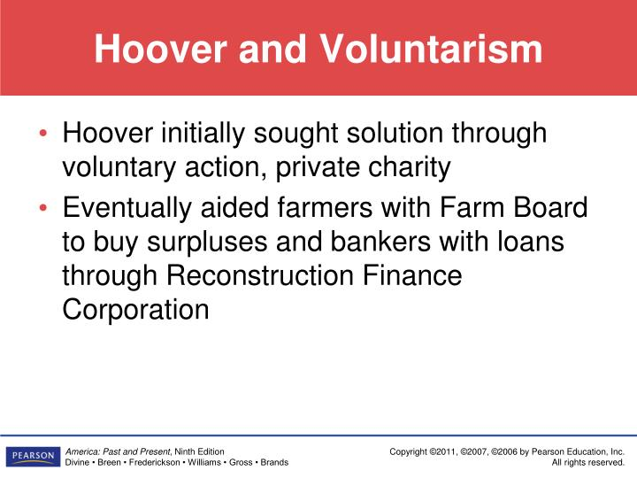 Hoover and Voluntarism