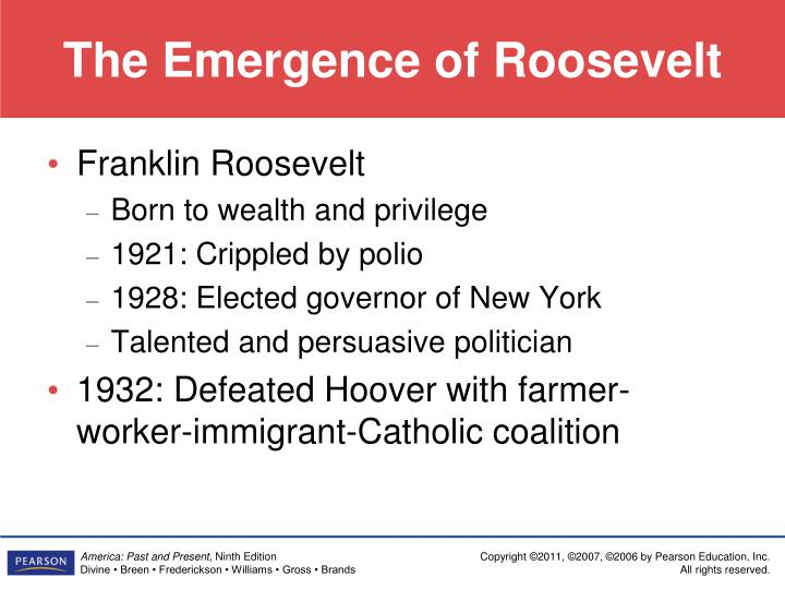 The Emergence of Roosevelt