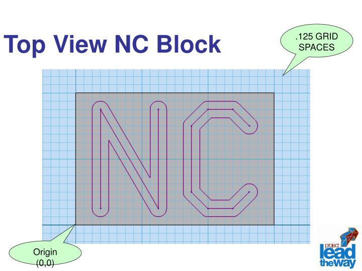 Top View NC Block