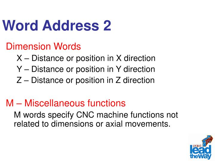 Word Address 2