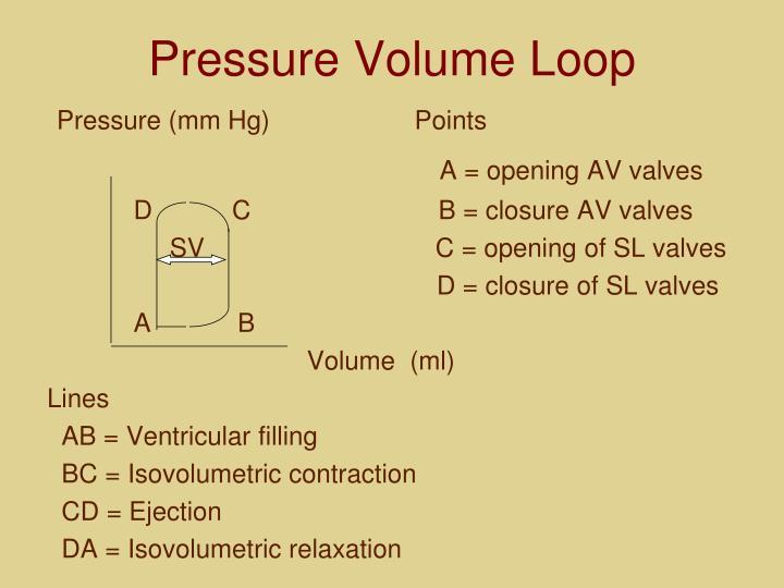 Pressure Volume Loop