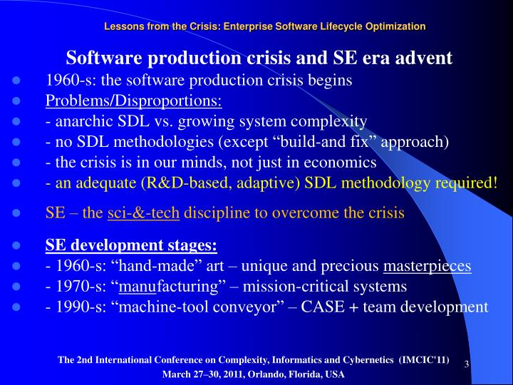 Lessons from the crisis enterprise software lifecycle optimization2
