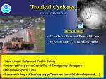 tropical cyclones vision benefits