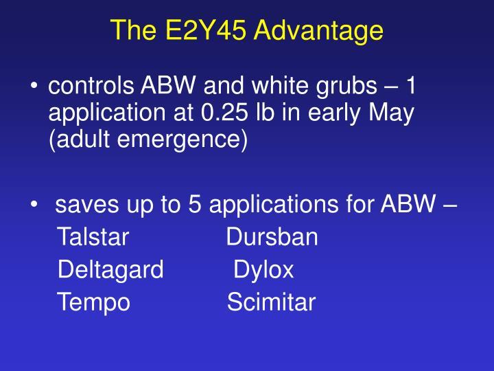 The E2Y45 Advantage