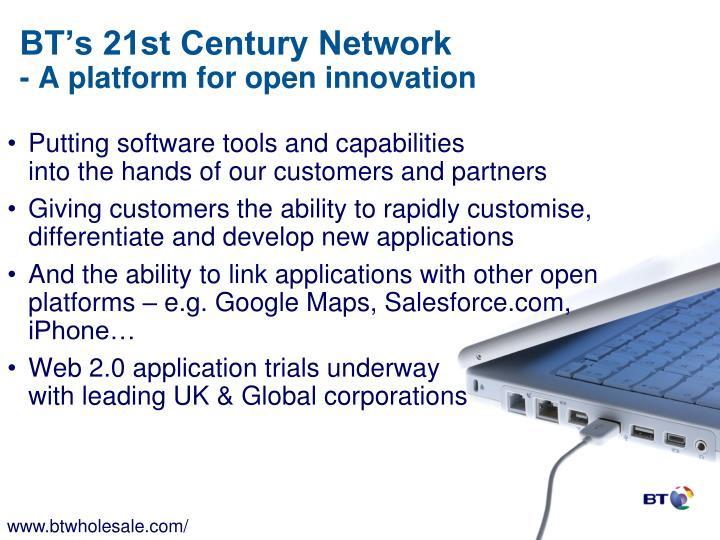 BT's 21st Century Network