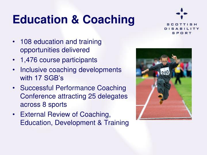 Education & Coaching