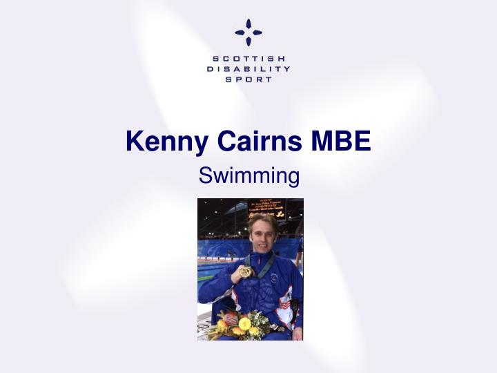 Kenny Cairns MBE