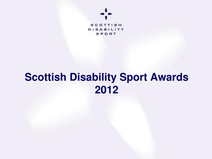 Scottish Disability Sport Awards