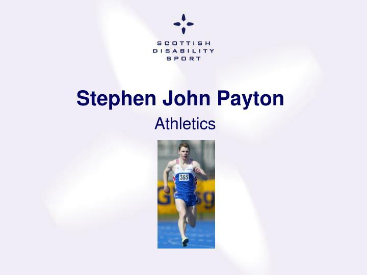 Stephen John Payton