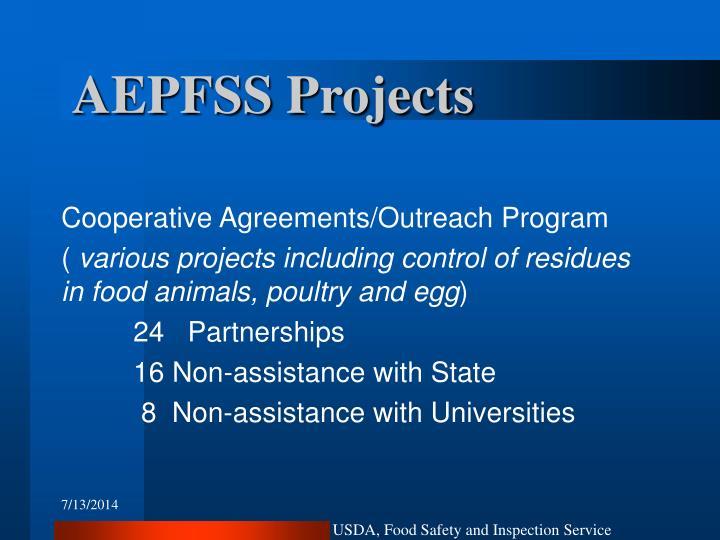 AEPFSS Projects