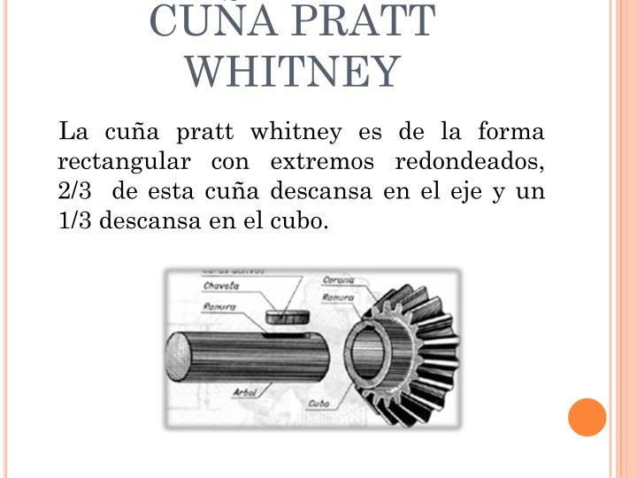 CUÑA PRATT WHITNEY