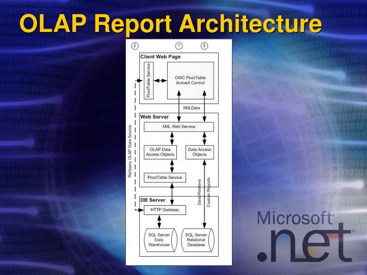 OLAP Report Architecture