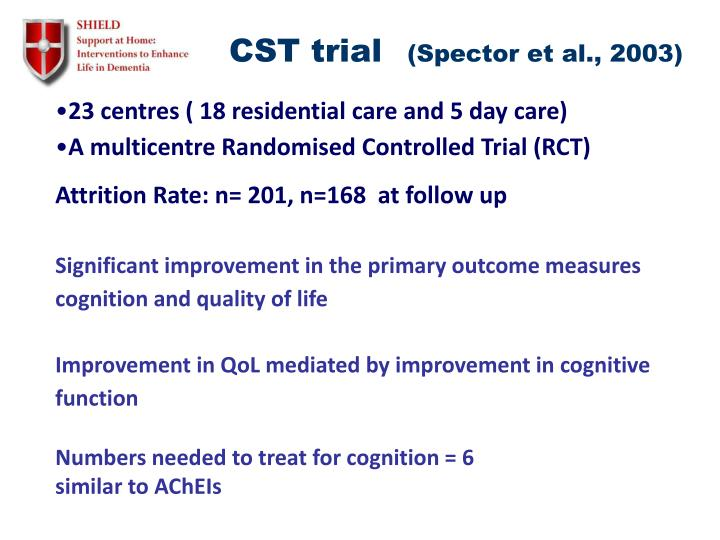 CST trial