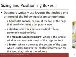 sizing and positioning boxes1