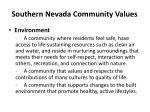 southern nevada community values3