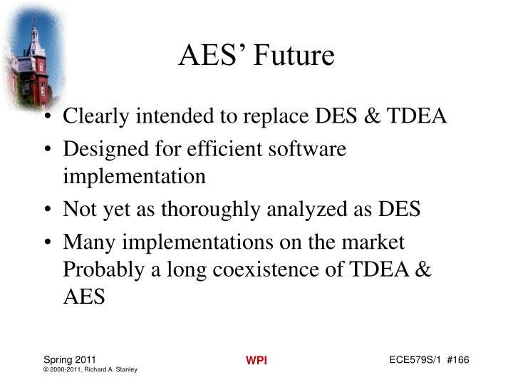 AES' Future
