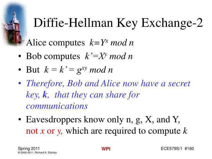 Diffie-Hellman Key Exchange-2