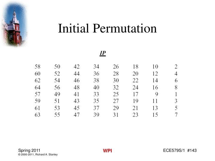 Initial Permutation