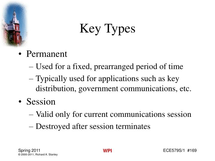 Key Types