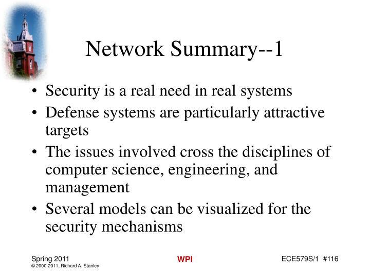 Network Summary--1