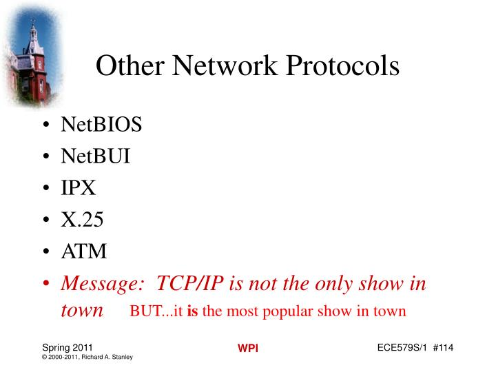 Other Network Protocols