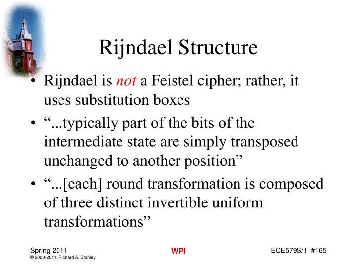 Rijndael Structure