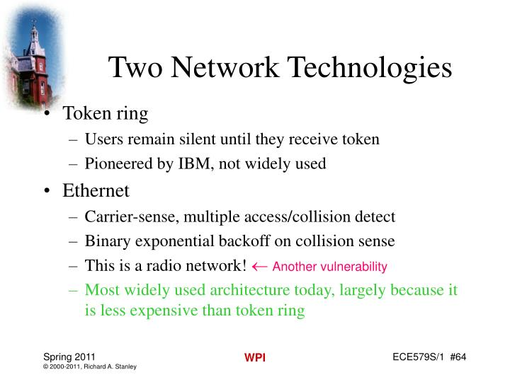 Two Network Technologies