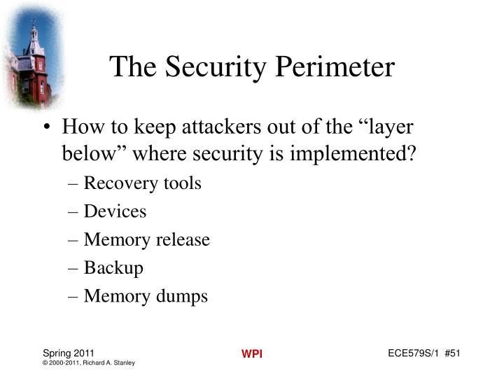 The Security Perimeter