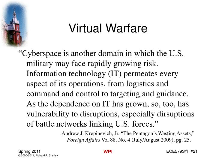 Virtual Warfare