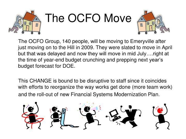 The OCFO