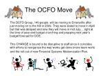 the ocfo move