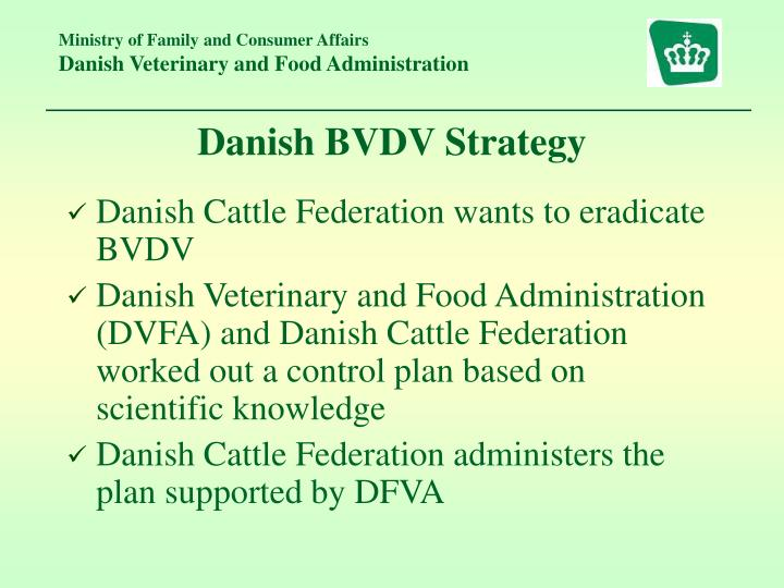 Danish BVDV Strategy