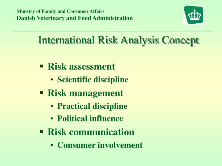 International Risk Analysis Concept