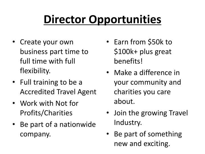 Director Opportunities