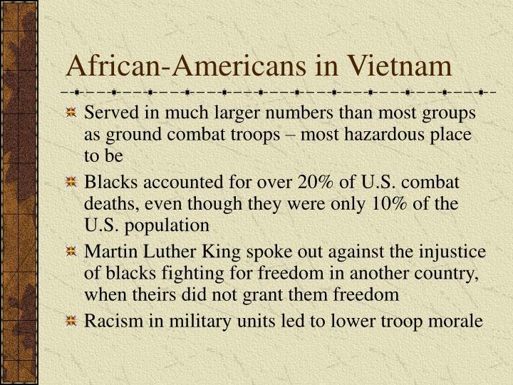 African-Americans in Vietnam